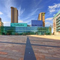 BBC Media City and Lowry Centre