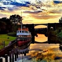 River Weaver Cruise Aboard The Art Deco 'Danny'