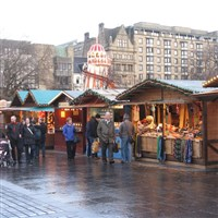 Edinburgh Christmas Market Weekend