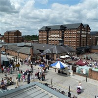 Gloucester Quays for its Victorian Market