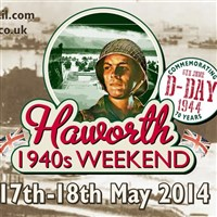 Haworth for its 1940's Weekend