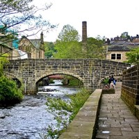 Hebden Bridge and Gordon Rigg Garden Centre