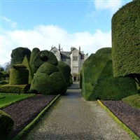 Kendal and Levens Hall with its Topiary Garden