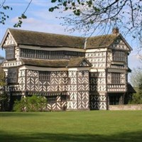 Nantwich on market day and Little Moreton Hall