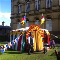 Saltaire for its Festival and Salt's Mill