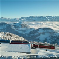 Swiss Winter Snow Train Adventure CITO