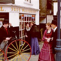 Ulverston for its Dickensian Christmas Festival