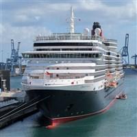 Cunard Queen Victoria in Liverpool