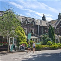 Kendal, Grasmere & Lunch at Wordsworth Hotel