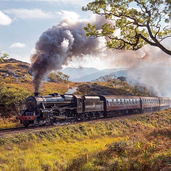 Romantic Railways of Scotland