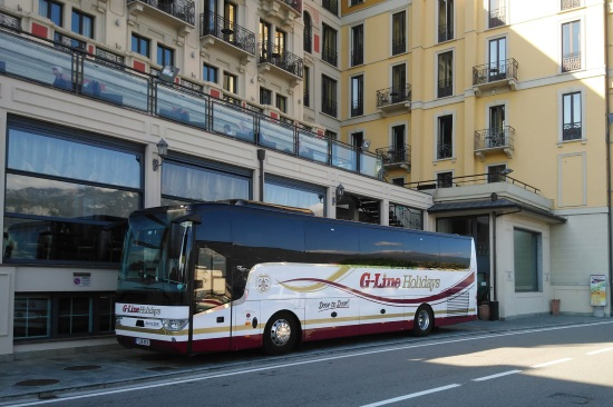 Coach day excursions and coach trips with G-Line Holidays